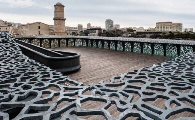 Ажурные конструкции из бетона в архитектуре самого интересного музея мира
