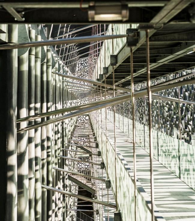 Несущие конструкции самого интересного музея мира