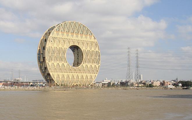 Дизайн самого интересного небоскреба в мире