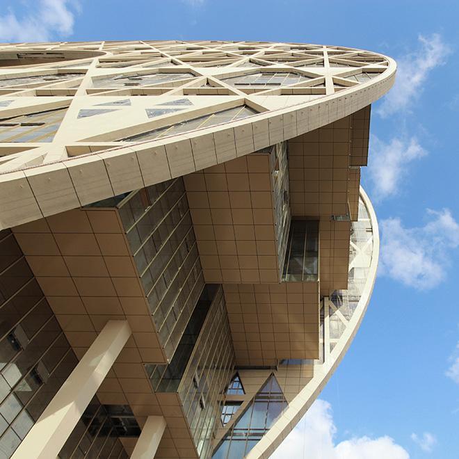 Архитектура самого интересного небоскреба в мире