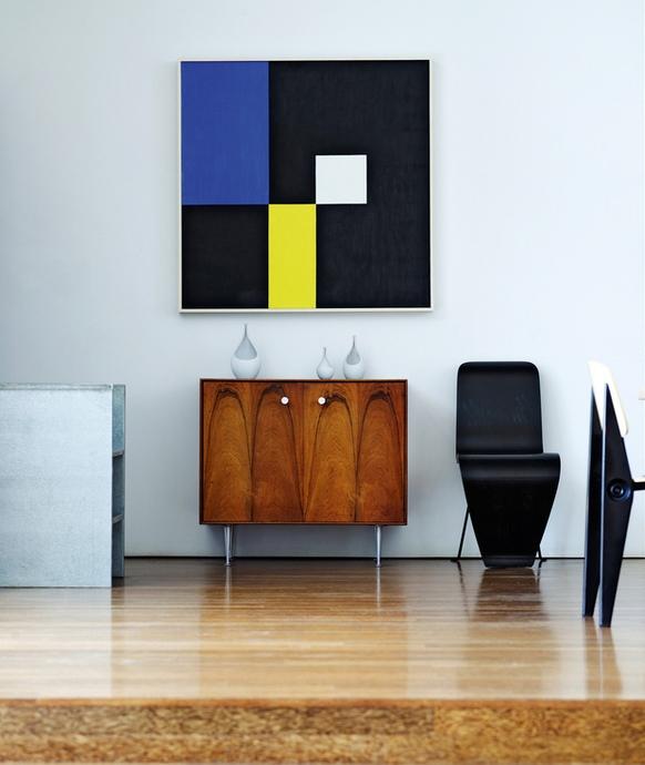 Живопись в интерьере в стиле модернизм