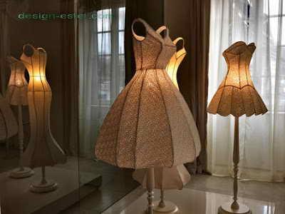Дизайн торшеров для холла одного из самых дорогих отелей мира Maison Moschino Hotel Milan