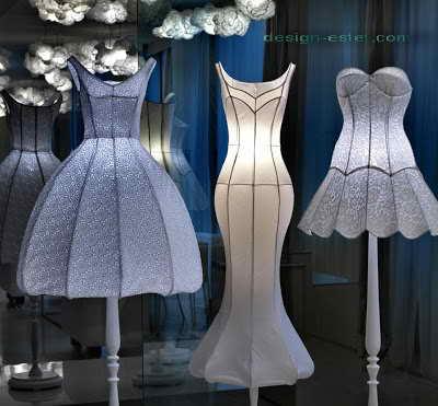 Фото дизайна светильников для холла одного из самых дорогих отелей мира Maison Moschino Hotel Milan