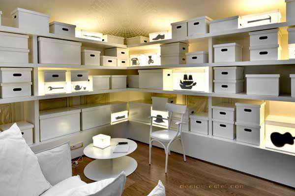 Дизайн белого номера одного из самых дорогих отелей мира Maison Moschino Hotel Milan