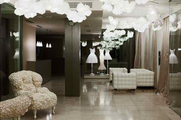 Дизайн интерьера одного из дорогих отелей мира - Мейсон Москино в Милане