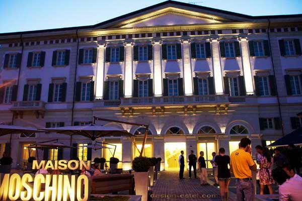 Дизайн фасада одного из самых дорогих отелей мира Maison Moschino Hotel Milan