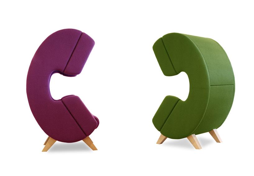 Дизайнерское мягкое кресло с текстильной обивкой