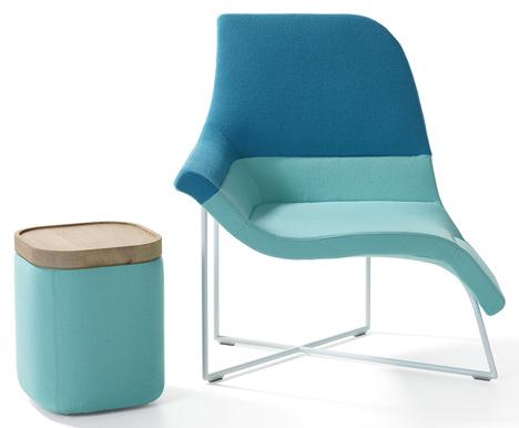 Дизайнерские современные кресла асимметричной формы