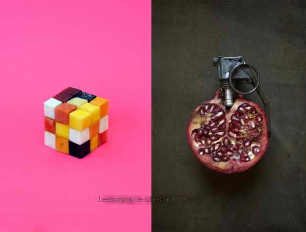 Еда и необычные фото-ассоциации