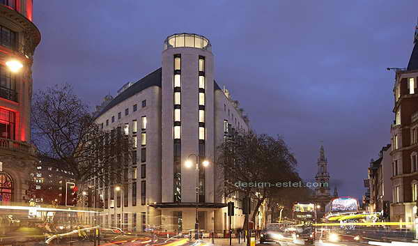 Дизайн экстерьера роскошного отеля ME London