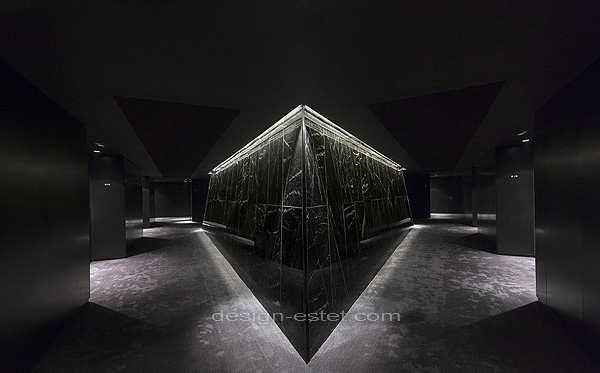 Дизайн интерьера коридоров роскошного отеля ME London