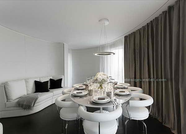 Фото дизайна интерьера в номере роскошного отеля ME London