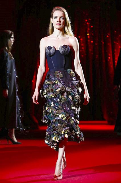Коллекция платьев от Ульяны Сергеенко - показ весенней коллекции 2017 года