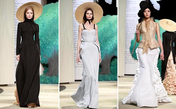 Коллекция платьев от Ульяны Сергеенко - миди фасоны