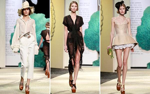 Коллекция платьев от Ульяны Сергеенко - сексуальные фасоны