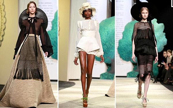 Коллекция платьев от Ульяны Сергеенко - короткие и длинные фасоны