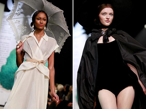 Коллекция платьев от Ульяны Сергеенко - модели в русском стиле ретро
