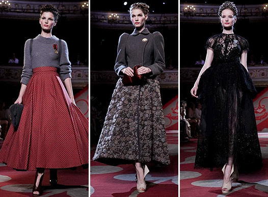 Коллекция платьев от Ульяны Сергеенко - стиль а-ля русс 2012 года