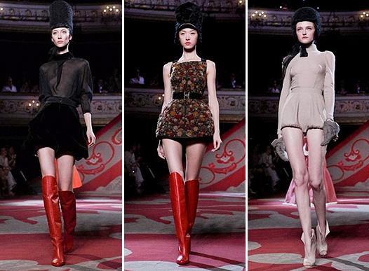 Коллекция платьев от Ульяны Сергеенко - показ 2012 года