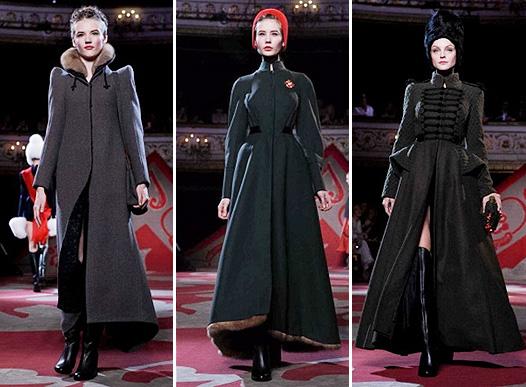 Коллекция платьев от Ульяны Сергеенко в русском стиле