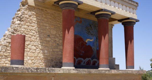 Особенности архитектуры Кносского дворца царя Миноса на Крите