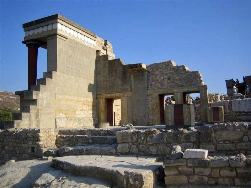 Архитектура Кносского дворца на Крите