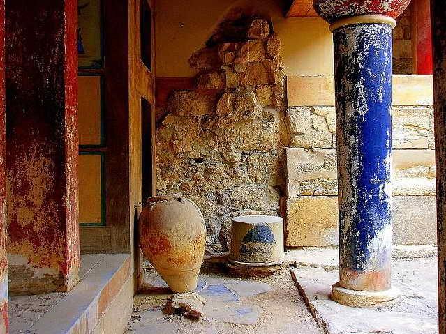 Керамика Кносского дворца на Крите