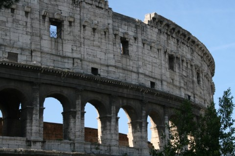Архитектура Древнего Колизея в Риме