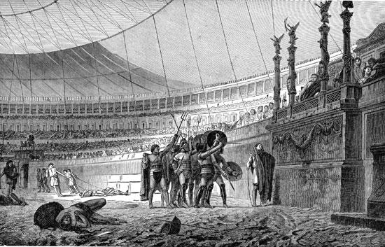 Как проходили бои гладиаторов в Колизее Древнего Рима