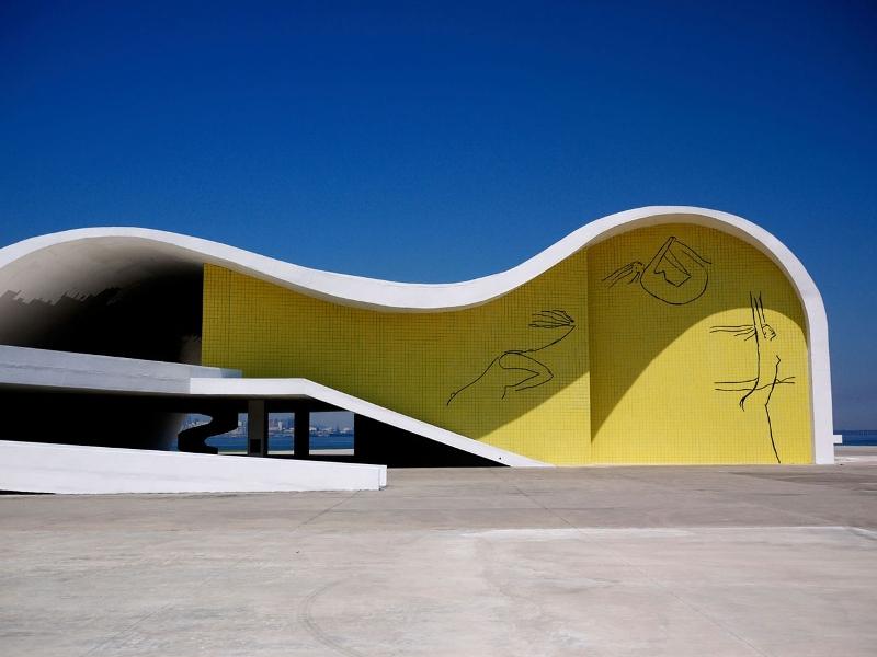 Современная архитектура в работах бразильского архитектора Оскара Нимейера