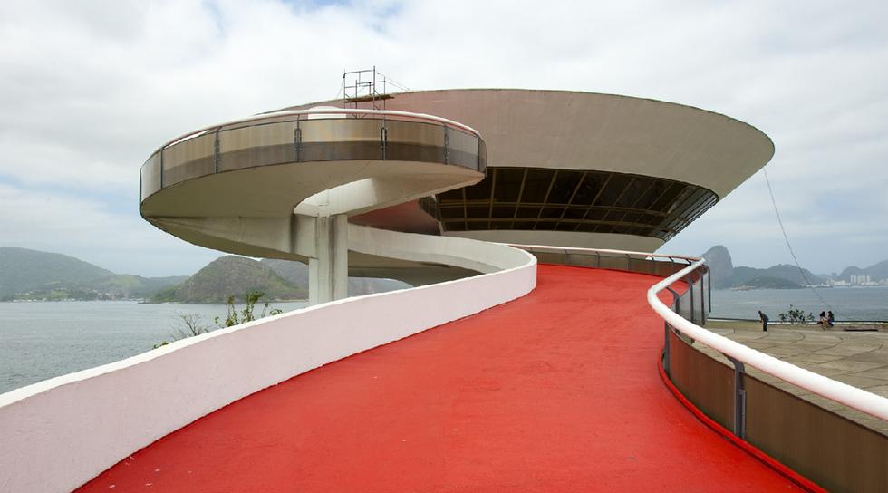 Музей искусства - проект бразильского архитектора Оскара Нимейера