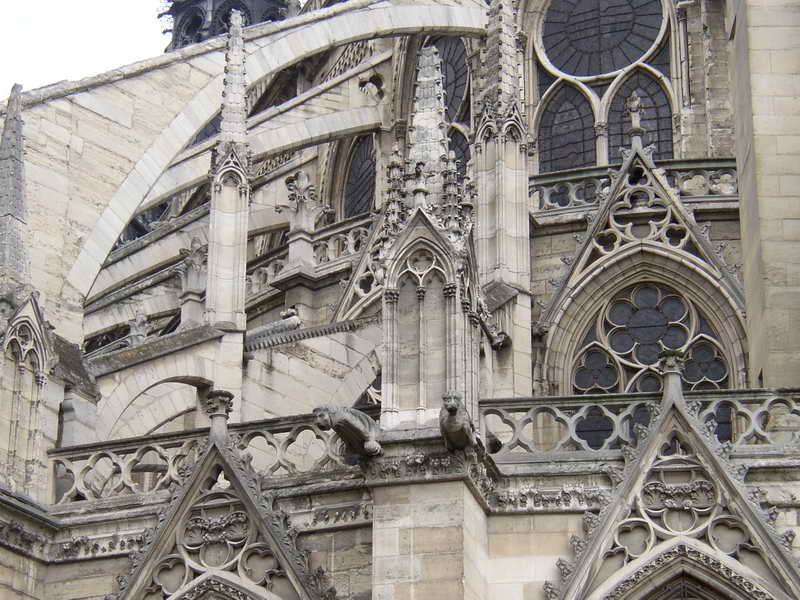 Готика в архитектуре собора Парижской Богоматери