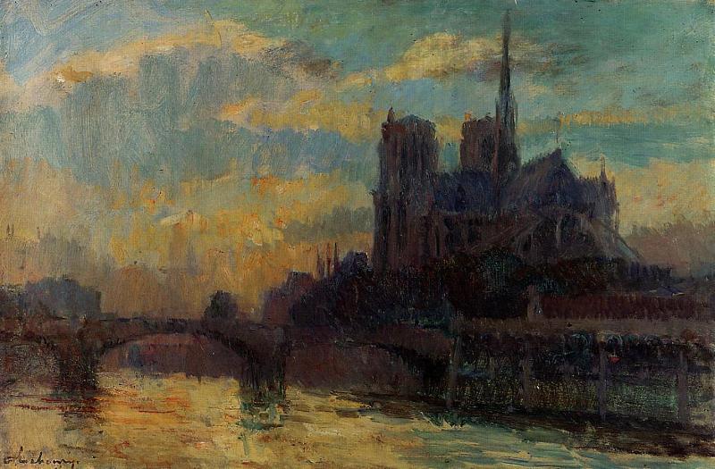 Живопись - Кафедральный собор Нотр Дам де Пари в Париже