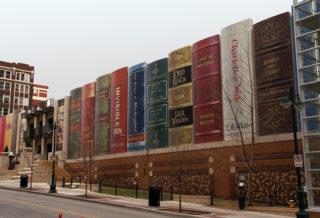 Самые необычные здания мира - общественная библиотека в Канзас-Сити